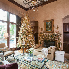 Traditional Living Room by Regina Gust Designs