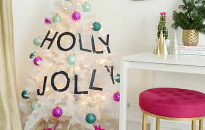 2 Looks for Your Christmas Tree, With DIY Garlands