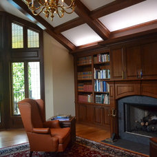 Traditional Living Room by Christopher D. Marshall Architect, LLC