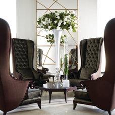 Contemporary Living Room by J. Douglas Design
