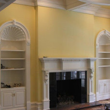 Traditional Living Room by Widner Product Finishing