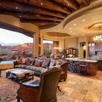 Camino santander santa fe residence for Living room 75020