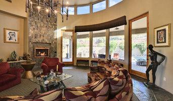 Circular living room