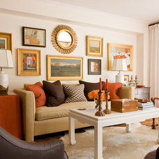 Traditional Living Room by Gary McBournie Inc.