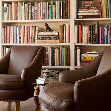 Traditional Living Room by Gary McBournie Inc.