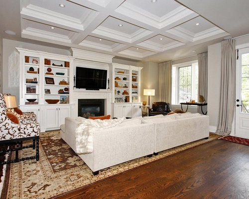 Cabinet Around Fireplace Home Design Ideas Pictures