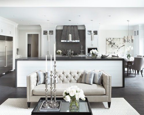 chesterfield sofa design houzz. Black Bedroom Furniture Sets. Home Design Ideas
