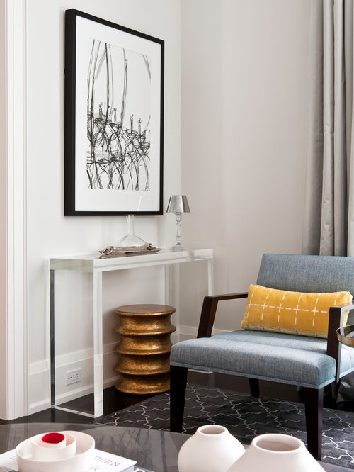 lucite console table ideas pictures remodel and decor