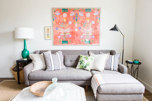 Eclectic Living Room by Route Design : Ashley Winn