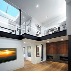 Modern Hall by SKR Homes