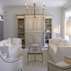 Traditional Living Room by The French Mix Interior Design