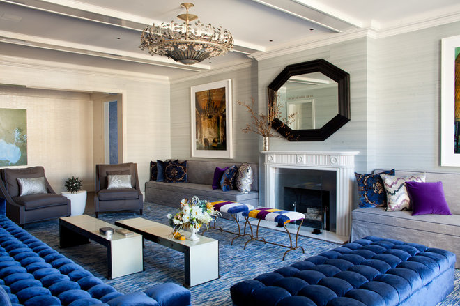 Contemporary Living Room by amanda nisbet