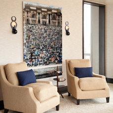 Contemporary Living Room by amanda nisbet