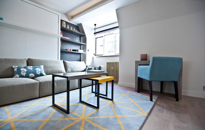 Houzz Tour A Small Studio Flat Makes The Most Of Every Inch E