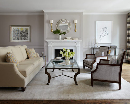 Living Room Decorating Ideas With Dado Rail 1930s dado rail living room ideas & photos with a standard fireplace