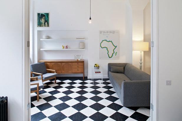 Fußboden Dielen Weiß Streichen ~ Dielen streichen musterhafte ideen für holzfußböden