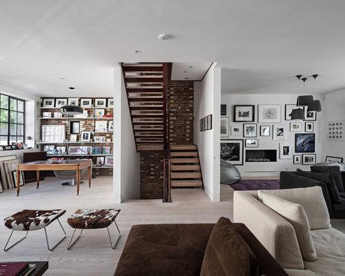 Best Industrial Living Room Design Ideas  Remodel Pictures  Houzz