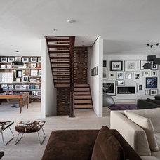 Contemporary Living Room by moreno:masey