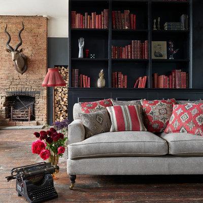Asian Living Room by Clarke & Clarke