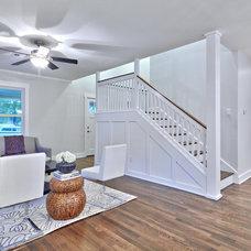 Craftsman Living Room by Avenue B Development