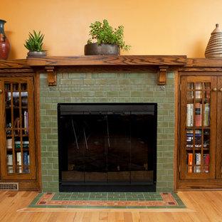 Classic Arts & Crafts Fireplace