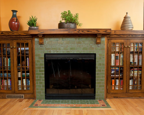 Arts And Crafts Fireplace Houzz