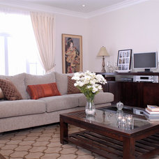 Contemporary Living Room by Wish Decor