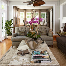 Beach Style Living Room by Jules Duffy Designs