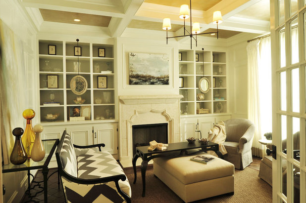 Contemporary Living Room by Beckwith Interiors