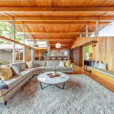 Contemporary Living Room by Lilium Designs