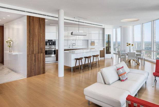 Modern Wohnbereich by Becker Architects Limited