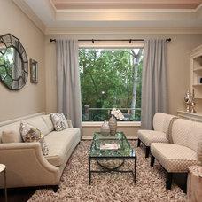 Traditional Living Room by Mauricio Nava Design