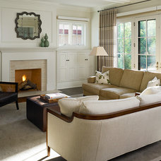 Traditional Living Room by Reynolds Architecture- Design & Construction