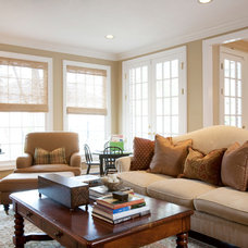 Traditional Living Room by Creative Touch Interiors