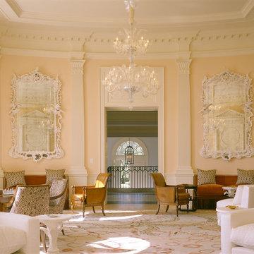 classical interior, Palm Beach