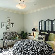 Transitional Living Room by Matthew MacCaul Turner