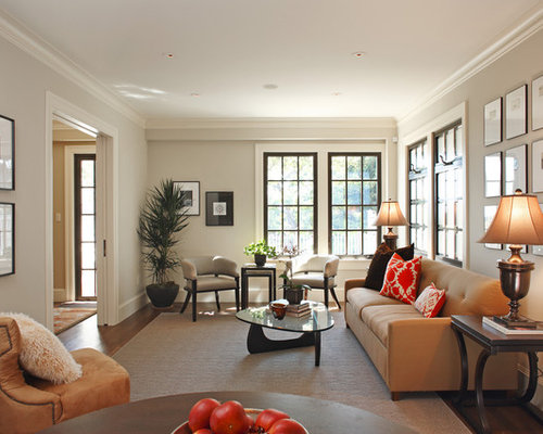 Transitional Formal Living Room Idea In San Francisco With No Tv