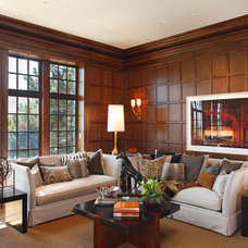 Transitional Living Room by Matthew MacCaul Turner