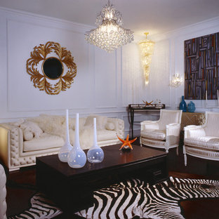 Living room - eclectic living room idea in Minneapolis