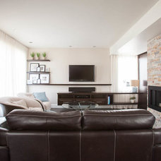 Contemporary Living Room by N Design Interieur