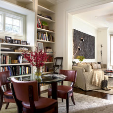 Contemporary Living Room by Holly A. Kopman Interior Design