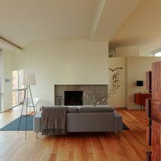 Modern Living Room by Clockwork