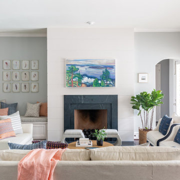 Clean and Bright Frisco Living Room