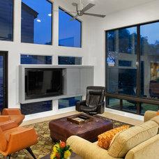 Contemporary Living Room by CG&S Design-Build