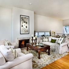 Contemporary Living Room by Kern & Co. - Susan Spath Interior Design
