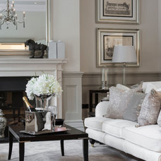 Traditional Living Room by Alexander James Interiors
