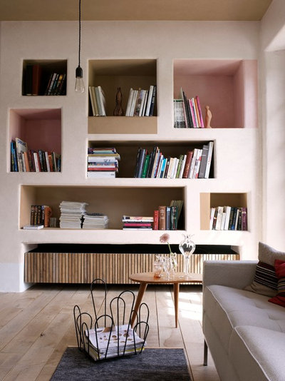 Contemporary Vardagsrum by Dulux Amazing Space