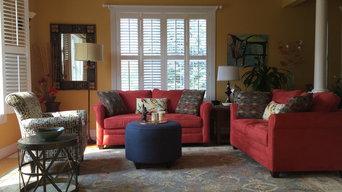 Client Complete Living Rm Design