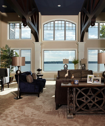 Traditional Living Room by Haisma Design Co.
