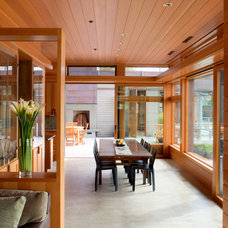 Contemporary Living Room by Scott Allen Architecture